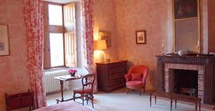 chambre toile de jouy chambre toile de jouy château de palaminy