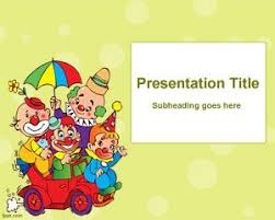 kids party powerpoint template ppt template fondos pinterest