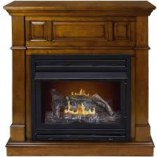 vent free natural gas fireplace modern home