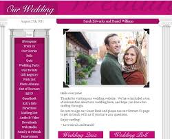 our wedding website your day your way create a wedding website part 2