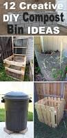 How To Make A Compost Pile In Your Backyard by 12 Creative Diy Compost Bin Ideas Diy Compost Bin Composting