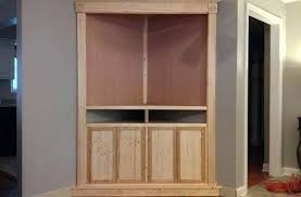 corner media cabinet 60 inch tv tall corner tv stand build a corner media stand free plans from tall