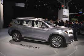 subaru viziv truck production 2019 subaru ascent will go on sale in 2018 motor trend