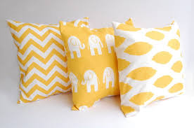 Yellow Decorative Pillows Turquoise Accent Pillows Turquoise