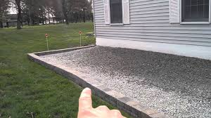 gravel driveway for the new boat youtube