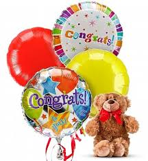 balloon delivery jacksonville fl congratulations balloon bouquets by gifttree