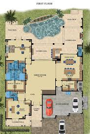 mediterranean house plans with lanai nice home zone