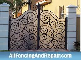 decorative fences in south florida ornamental fences in south