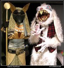 Anubis Halloween Costume Anubis Costume Pretty Fluffy Bunny Costume U2026 Flickr