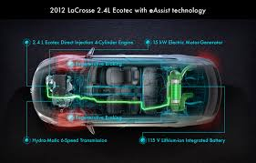 buick lacrosse eassist technology delivers premium efficiency