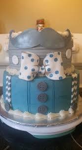 suspenders u0026 mustache baby shower cake cakecentral com