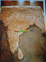 Varanasi India Map by Bharat Mata Mandir In Varanasi Mother India Temple