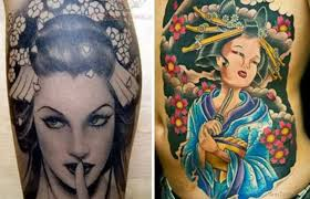 52 mind blowing geisha tattoos for arm