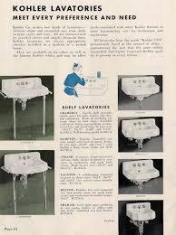 Kohler Bathroom Sinks And Vanities by Vintage Bathroom Sinks The Seven Distinct Design Styles Retro