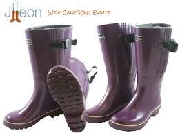 s boots plus size calf xtra wide calf s rubber boots from jileon rainboots