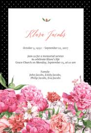 funeral invitation template free free printable memorial card templates greetings island