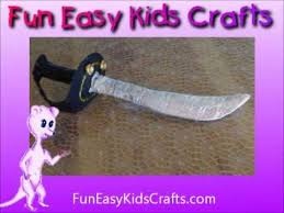make a pirate cutlass sword youtube