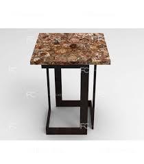 petrified wood end table petrified wood end table unico furnishingcart