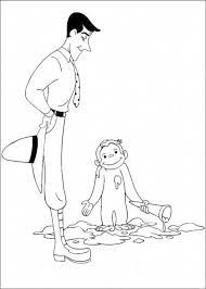 print u0026 download cute curious george coloring pages