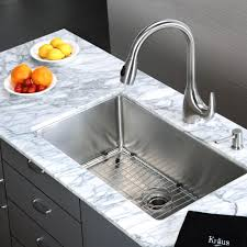 stainless steel kitchen sink combination kraususa com discontinued kraus 30 inch undermount single bowl 16 gauge stainless steel kitchen sink with kitchen