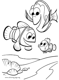 13 finding nemo disney coloring pages images