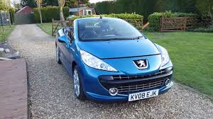 blue peugeot review of 2008 peugeot 207cc 1 6 gt convertible for sale sdsc
