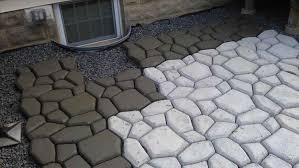 Concrete Patio Stone Molds by Paver Paver Forms Concrete Pavers