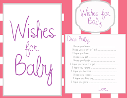 wishes for baby template ideas pinterest babies