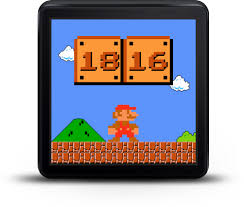 mario android scowatch mario a mario bros themed watchface for android