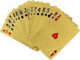 amazon com trademark poker 24k gold playing cards sports u0026 outdoors