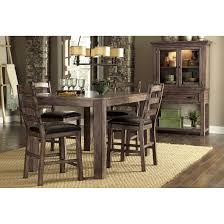 august grove aylin counter height extendable dining table for