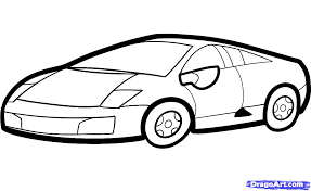 lamborghini sketch easy color in pictures coloring free coloring pages