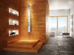 exquisite contemporary wooden bathroom design ideas