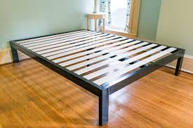 Raised Bed Frame The Best Platform Bed Frames 300 Reviews By Wirecutter A