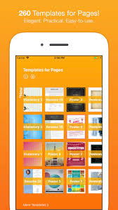 templates for pages nobody on the app store