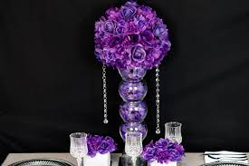 purple centerpieces diy purple wedding centerpiece in 3 easy steps