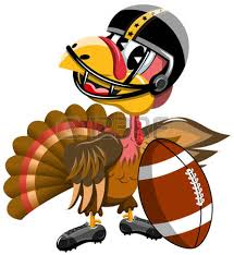 thanksgiving turkey american football royalty free