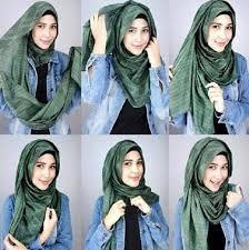 tutorial jilbab remaja yang simple ini dia tutorial hijab simple untuk para remaja kekinian