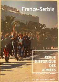 chambre de commerce franco serbe un pas en avant pour la recherche historique franco serbe la