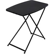 cheap folding tables walmart mainstays 26 personal folding tables set of 4 black walmart com