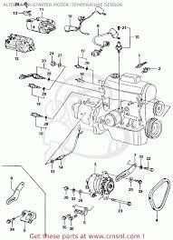 honda civic 1981 b 4dr1500 ka kh kl alternator starter motor
