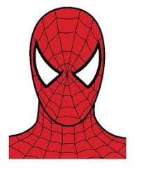 spiderman mask print leapsterworld