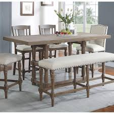 Pottery Barn Dining Room Ideas Dining Room Excellent Griffin Reclaimed Wood Bar Height Table