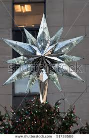 rockefeller center christmas tree stock images royalty free