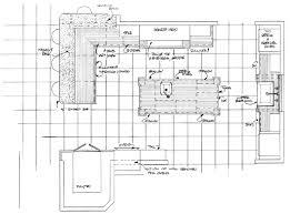 kitchen floor plans with islands astounding design a kitchen floor plan and plans with island