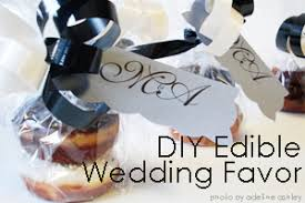 edible party favors diy edible wedding shower party favor idea