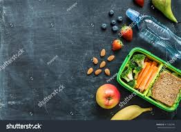 halloween chalkboard background photography lunch box sandwich vegetables water stock photo 411563740