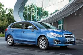 blue subaru hatchback subaru impreza 2014 car review honest john