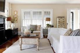 Shabby Chic Shutters by Timeless Home Designs Family Room Shabby Chic Style With My Houzz