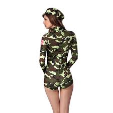 body suit halloween costumes aliexpress com buy cool army officer costume green